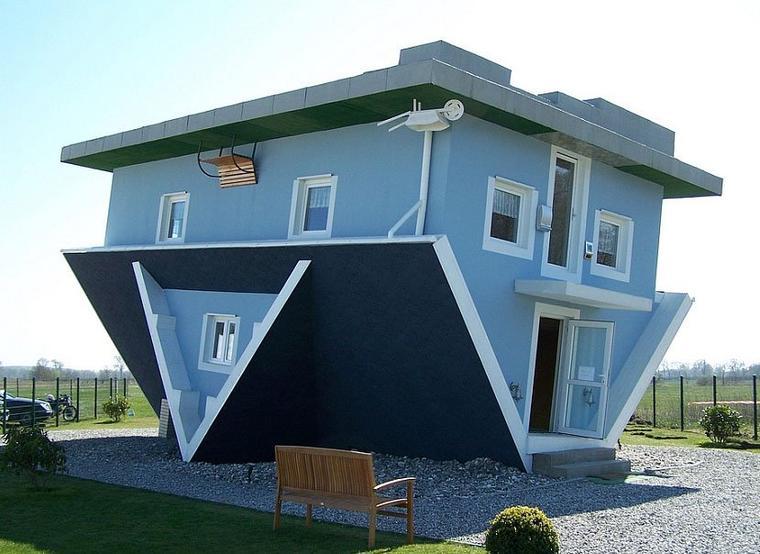 Trop bizarre les maisons !!!