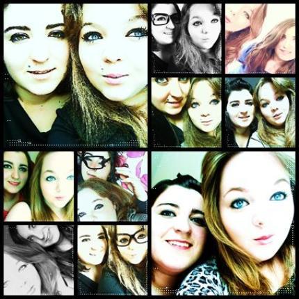 J'ai découvert ce qu'est une meilleure amie, et depuis, j'ai compris que vivre sans elle m'est interdit !  ♥ .. ♥