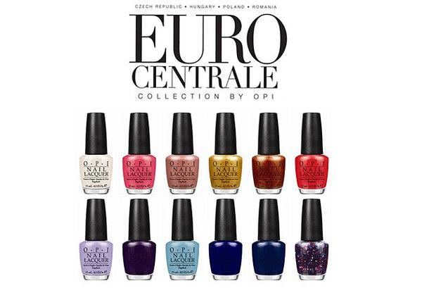 [Vernis & Nail Art] Collection Euro Centrale de chez O.P.I