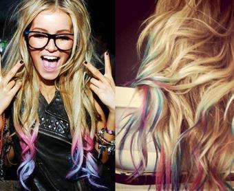 Le Hair Chalking !