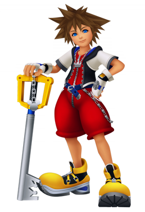 personnage Kingdom Hearts