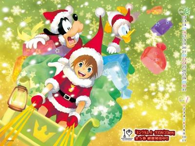 Kingdom hearts fête noël