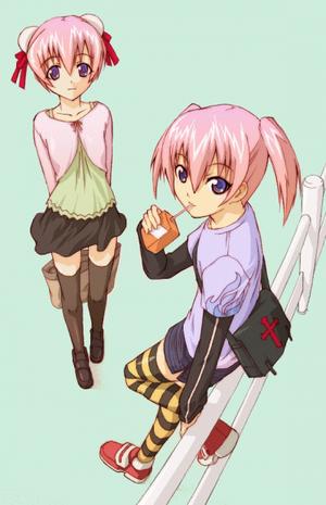 Fûka et Fumika Naritaki