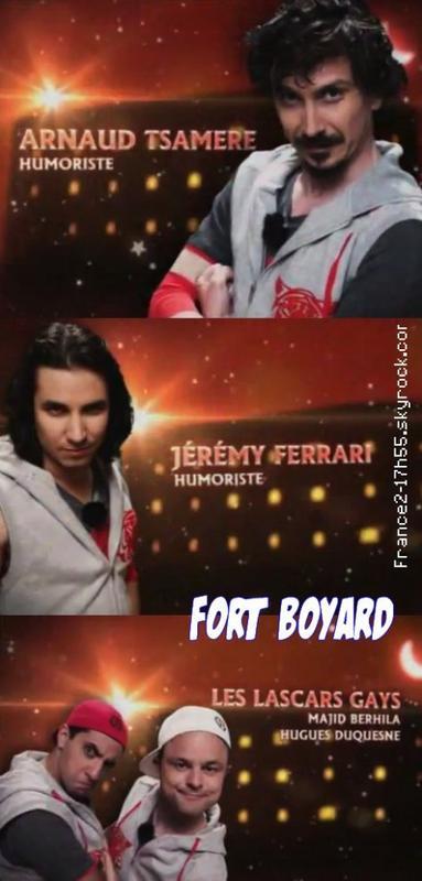 Fort Boyard avec Arnaud Tsamere, Jérémy Ferrari et Les Lascars Gays