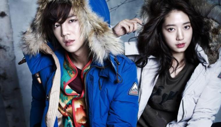 Winter whit Parck shin hey & jang geun suk =D