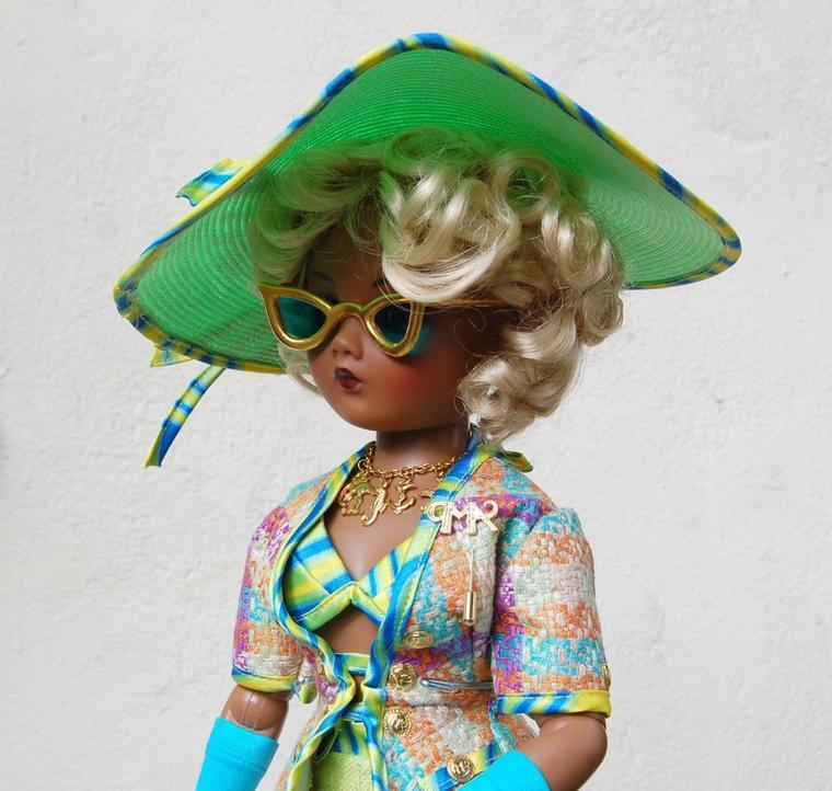 cissy madame alexander tenue daisy resort fin