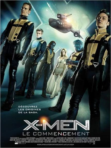 Film : X-men le commencement ( the first class)
