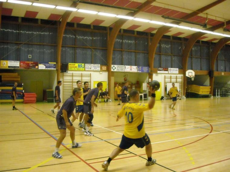 Victoire des Séniors à domicile face à Sens 39-30