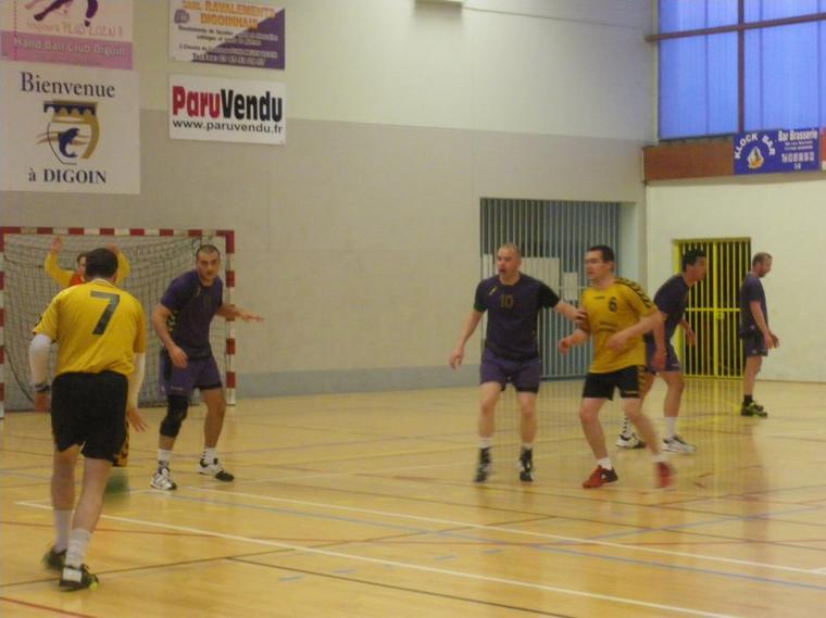 Victoire des Digoinais contre Toucy 31-26