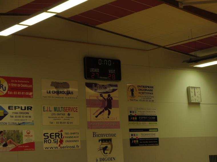 Match séniors Digoin / Nevers du samedi 19 janvier 2013