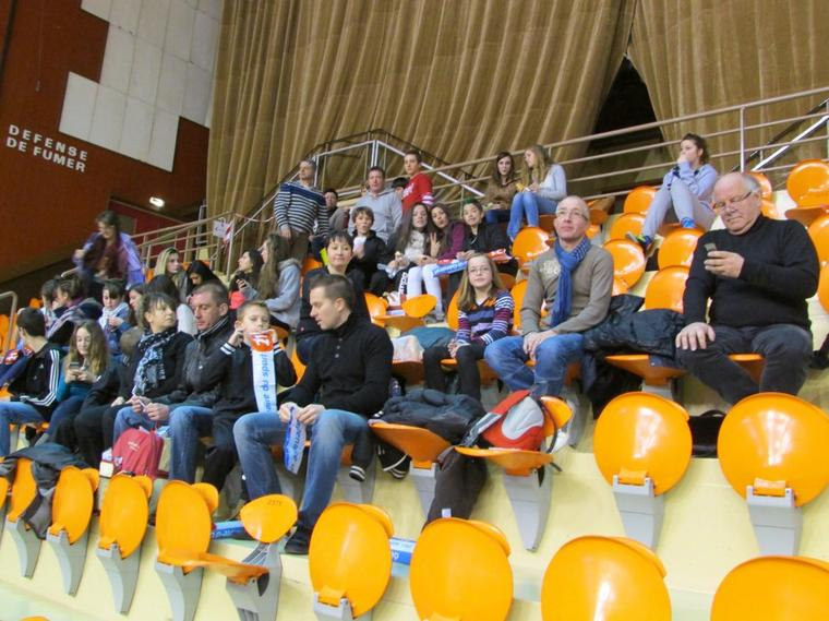 Samedi à Dijon, le gratin du HBC DIGOIN était dans les tribunes