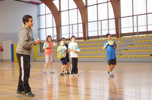 Animations de quartier / Espace Jeunesse - Handball Club Digoin