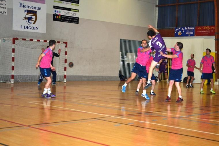 Match des seniors face à Meursault (suite)