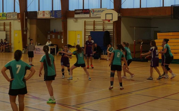 Match des -16ans F. face à Auxonne