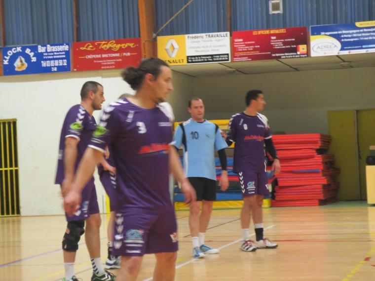 Victoire des séniors Digoinais contre Fontaines les Dijon  35-31