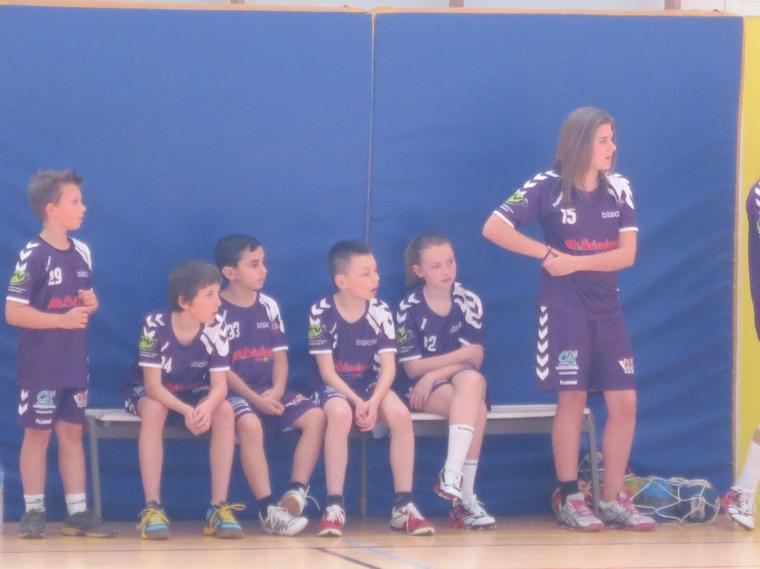 Victoire des Moins de 12 ans mixte face à Châtenoy 24-8.