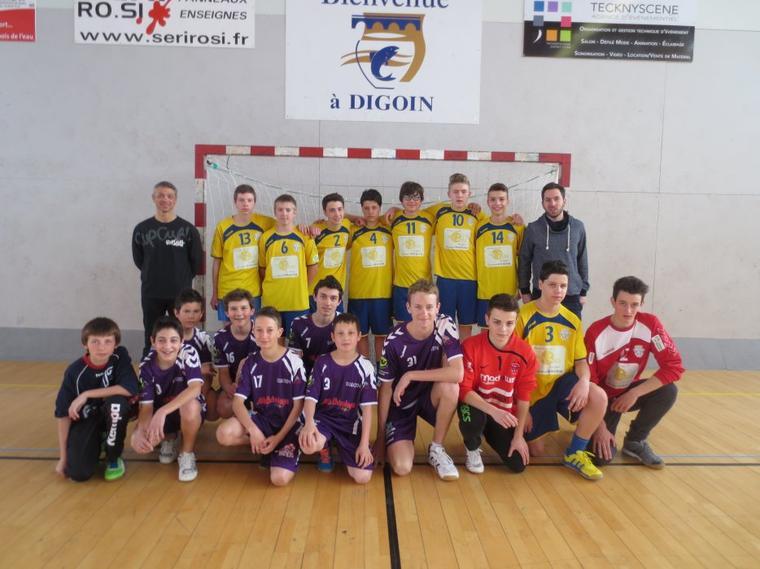 Match des -16 ans garçons face à Macon