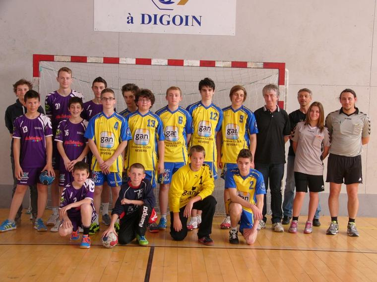 Match des -16ans G face à Nevers