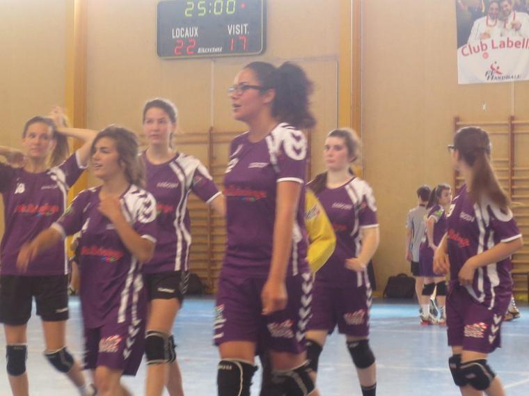 Belle performance des filles face à Nevers
