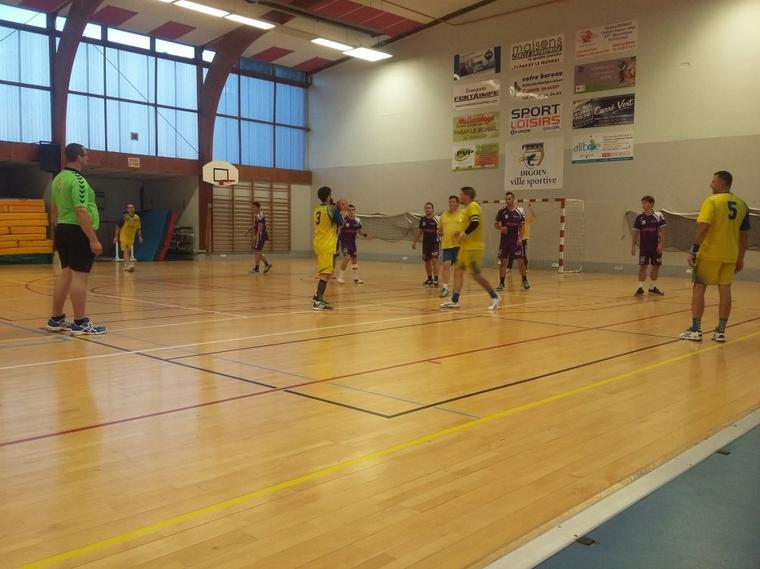 Un beau week-end de HandBall à Digoin !