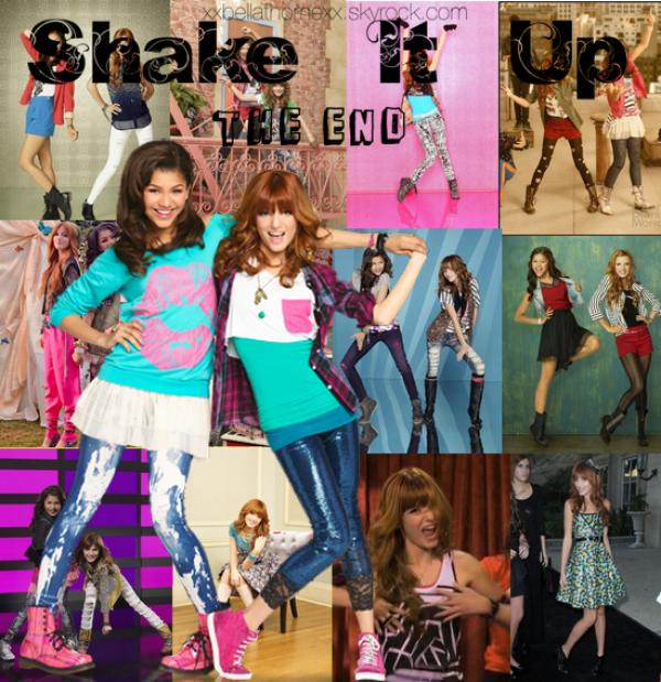 La fin de Shake it Up
