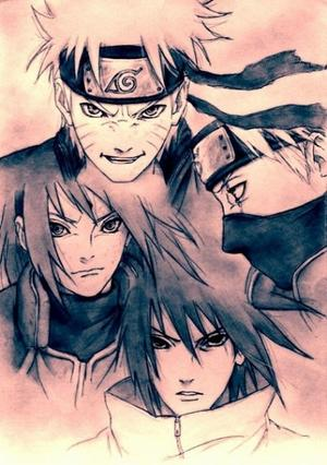.•° † Fiction : La larme du shinobi † °•.