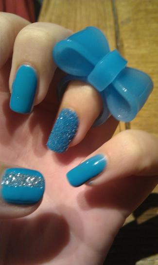 bleu de sable fin...