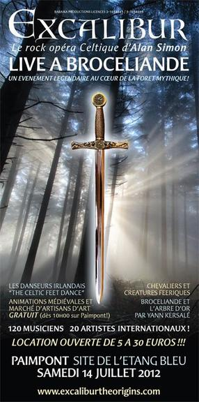Excalibur - Live à Brocéliande