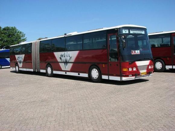 Le bus de tournée des Boys !
