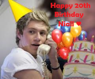 Happy Birthday Niall !