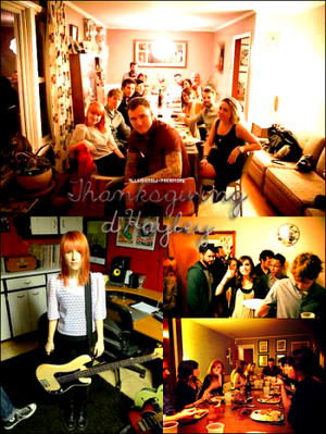 28/11/2011: Le Thanksgiving d'Hayley
