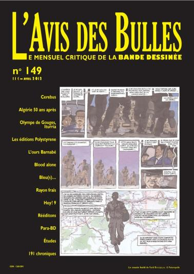 L'avis des bulles n° 149 - avril 2012