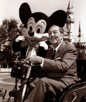 Mr. Disney, thanks for building my dreams and making them come true.