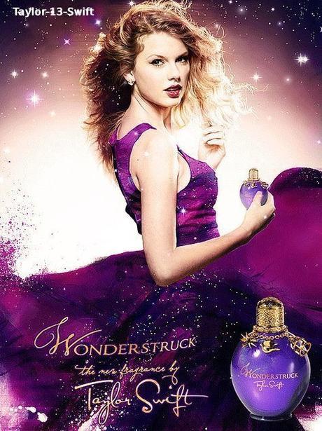 """Voici l'affiche de """"Wonderstruck"""" le parfum de miss Swift. Je la trouve magnifique ♥"""