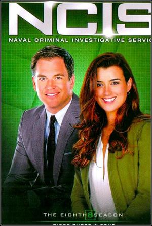 >> DVD of the eigth season of NCIS
