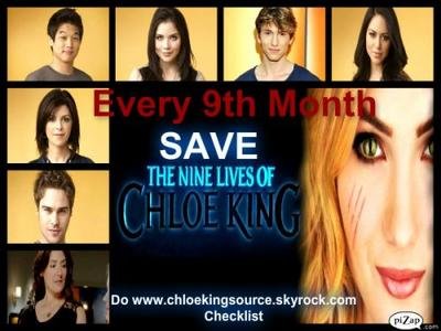 SEPT 9 SAVE #NineLivesofChloeKing with 9 STEP Checklist