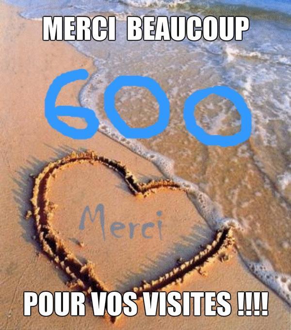 600 visites ♥