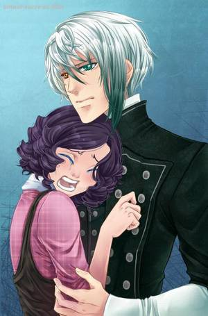 Sucrette : Cheveux bouclée,noir,yeux bleu. (Que les illustrations avec une sucrette.)