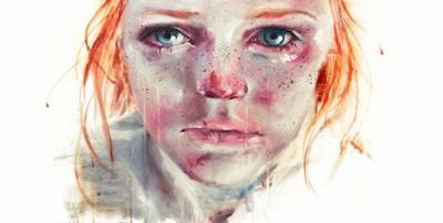 Bercée par les larmes elle s'est endormie dans les profondeurs de son âme
