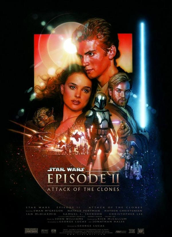 Star Wars episode II : Attack of the clones