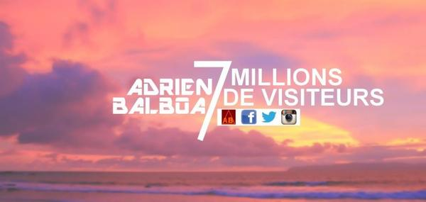 7 millions de visiteurs !