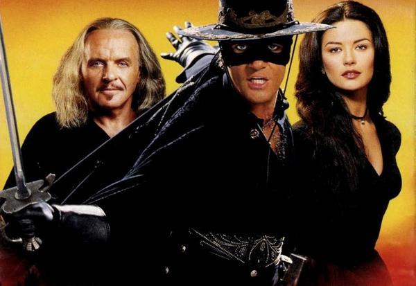 Antonio Banderas es Zorro