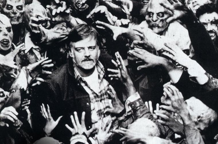 George A. Romero and his zombies