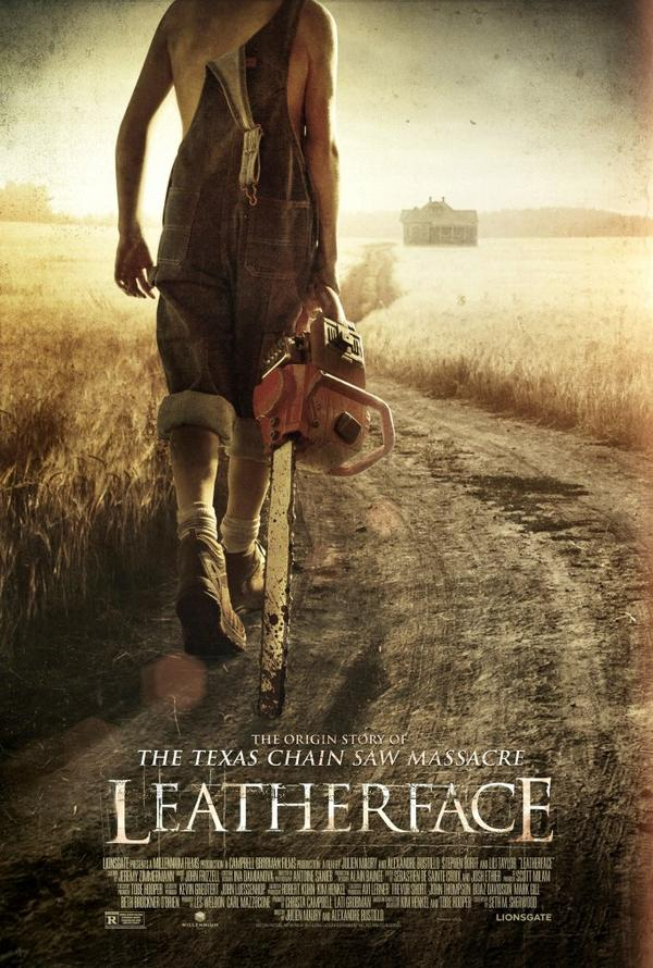 Leatherface, the new Texas chainsaw