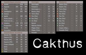 Présentation de personnage n°1 : Cakthus, disciple de Féca.
