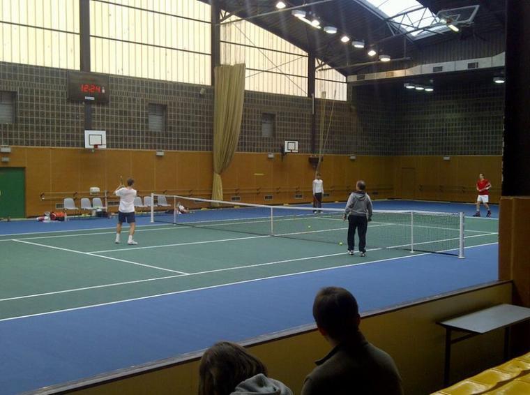 Andy Murray s'entraîne avec Richard