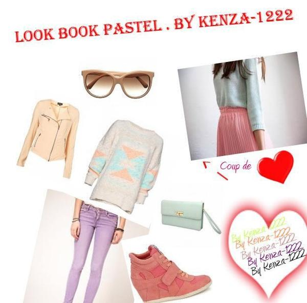 Look Book  Pastel + Selection de Pull /Robe Pastel + Coup de Coeur