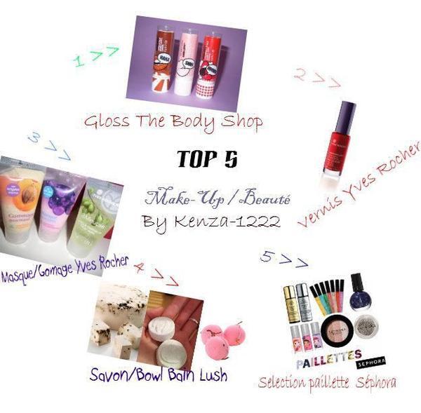 Top 5 Make-Up / Beauté