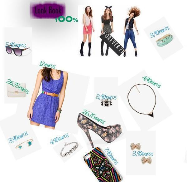 Forever 21 Look Book + Make Up