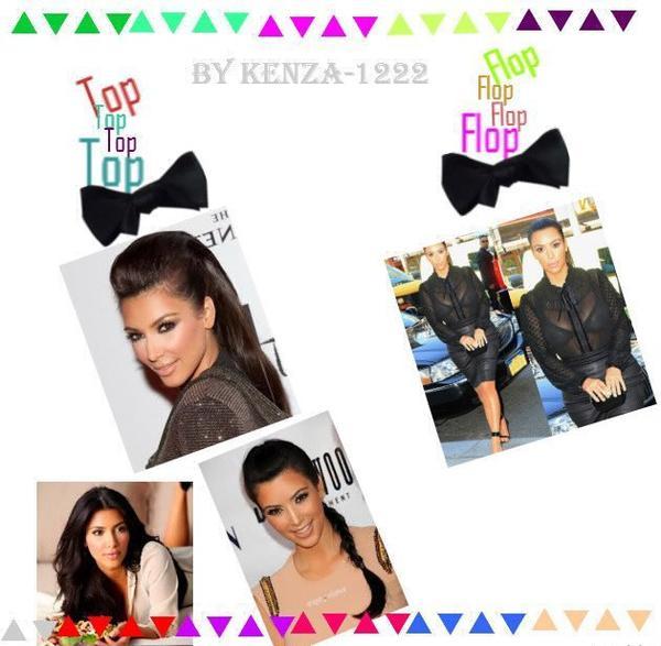 Le Top Et Le Flop De Kim Kardashian !!